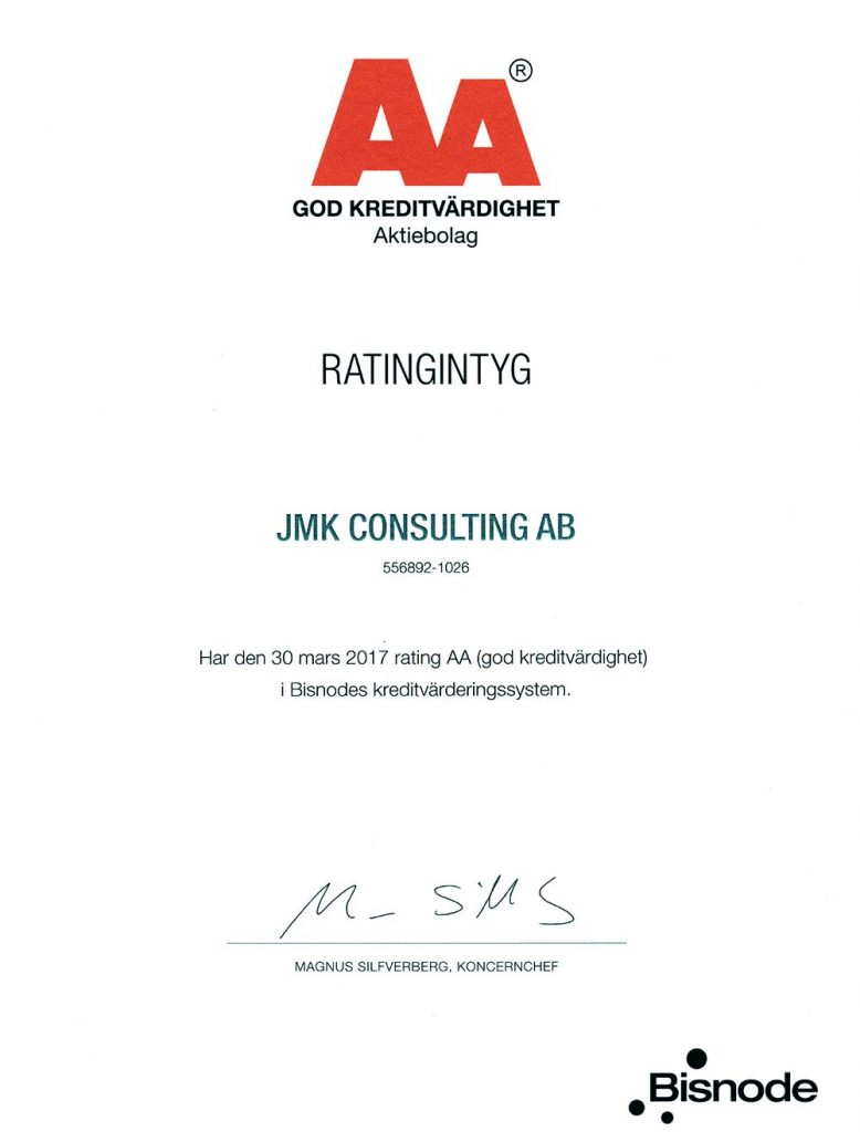 jmk consulting ab - Swedish offshore services